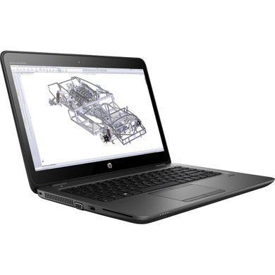 "HP ZBook 14U G4 i5-7200U 14"" 8/256 SSD/W10/WEBCAM/AMD FirePro W4190M 2048MB/1920x1080"