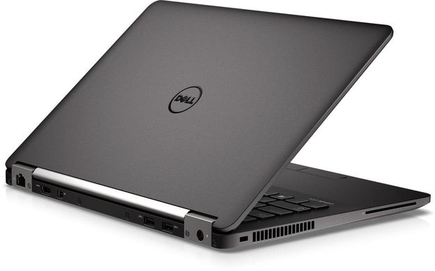 "DELL Latitude E7270 i5-6300U 12,5""/8/128 SSD/Win10P/WEBCAM/1366х768, Чорний"