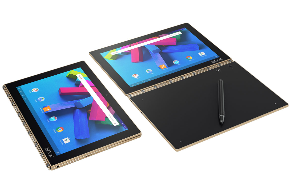 "Lenovo YOGA BOOK Atom™ X5-z8550 10.1"" 4/64 eMMC/Android 6.0/2 WEBCAM/Touchscreen/1920x1200, Чорний"
