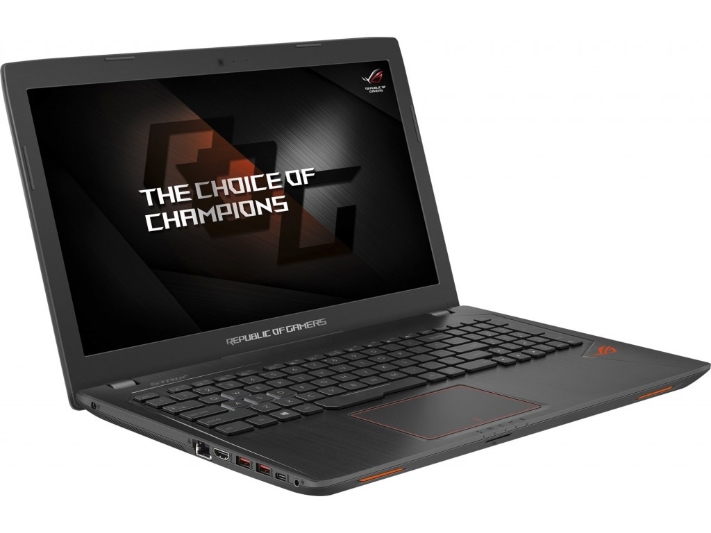 "ASUS ROG Strix GL553VE-FY022T 15,6"" i7-7700HQ/8 GB/1000 GB/1050 Ti, Чорний"