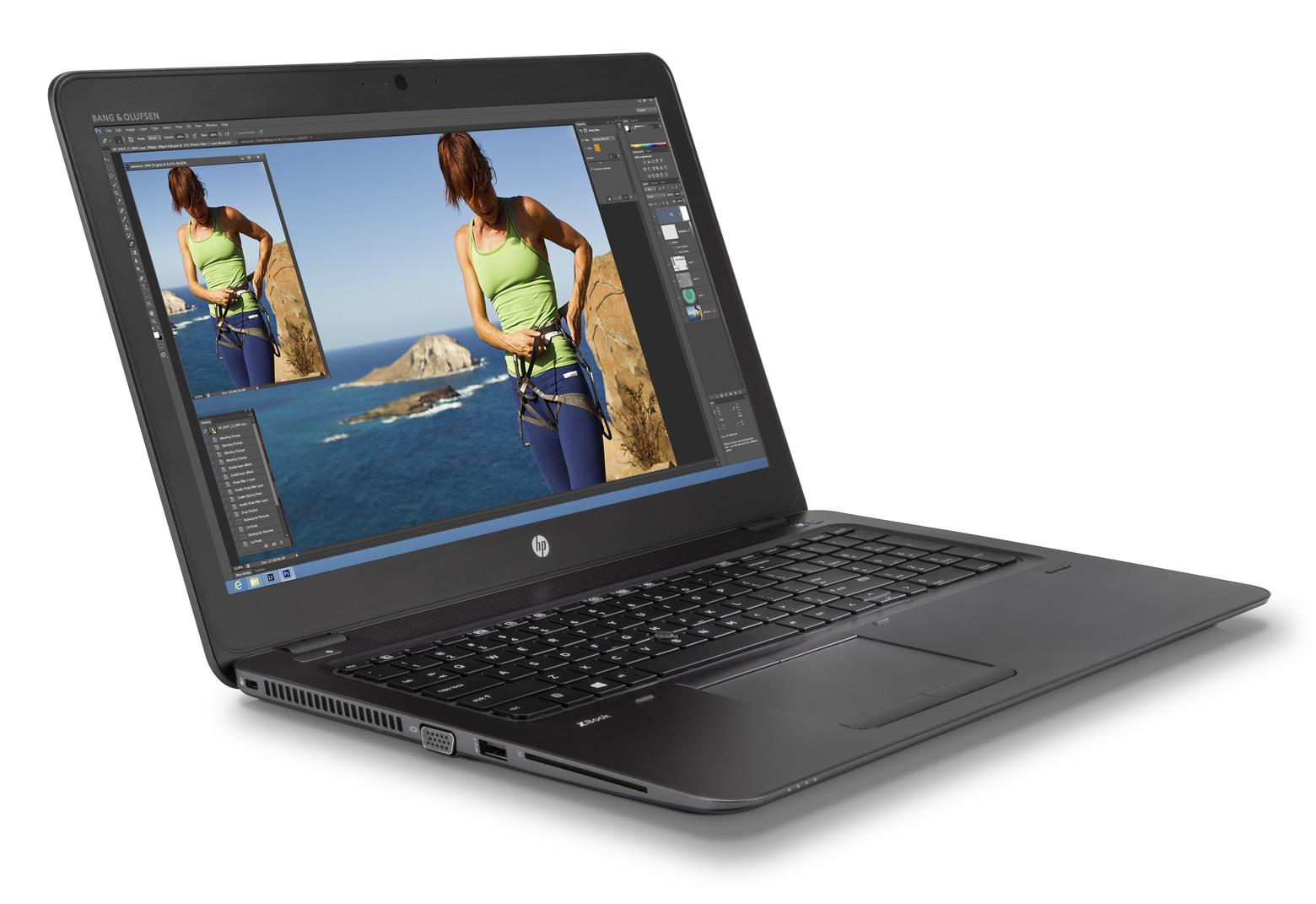 "HP ZBook 15U G3 MOBILE WORKSTATION i7-6500U 15.6"" 8/1000/TOUCHSCREEN/BT/Win10 Pro/WEBCAM/AMD FirePro W4190M/FP Reader/Backlit Keyboard/1920x1080 (V1H65UTR#ABA)"