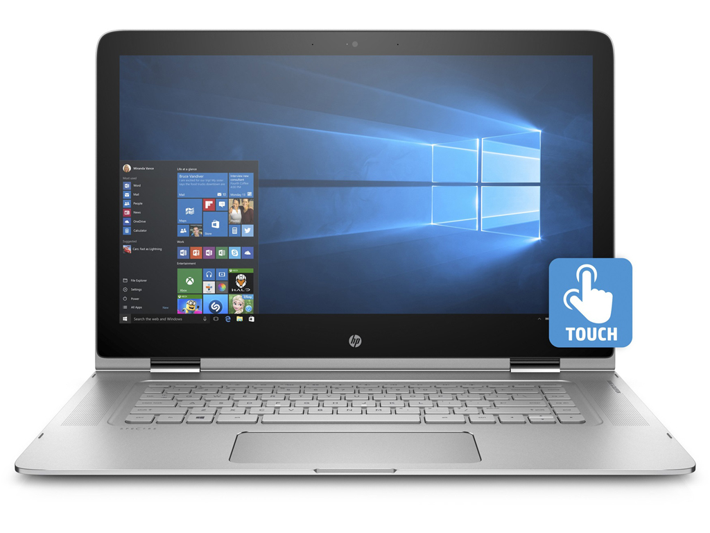 "HP Spectre 15T-BTO x360 2-IN-1 i5-6200U 15.6""/8/256SSD/BT/Win10P/WEBCAM/TOUCHSCREEN/3840x2160"